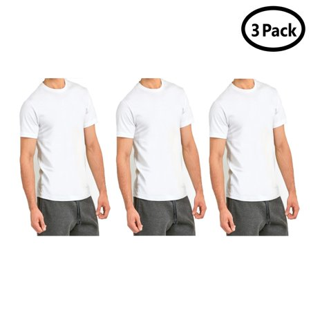 Qraftsy Men Roundneck 100% Cotton Plain T-Shirt - Bulk Wholesale - 3 Pack - Skirt Wholesale