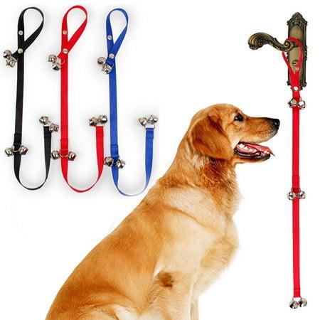 Adjustable Dog Puppy Training Potty Door Bells Puppy Housetraining Bells Dog Training Ring Bell