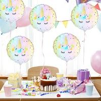 KABOER 18 Inch Unicorn Theme Foil Balloon Kids Birthday Party Supplies  Vintage Decor
