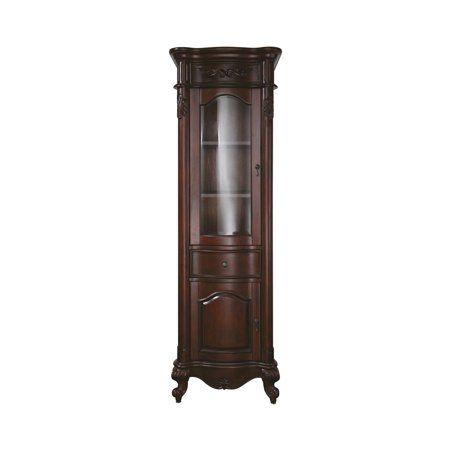 Avanity Provence 24-in. Antique Cherry Linen Tower