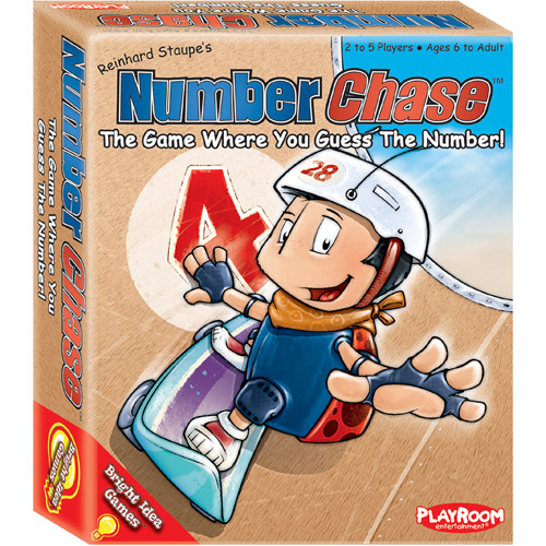 Playroom Entertainment Number Chase