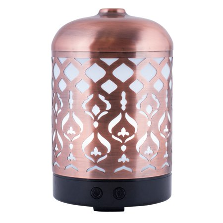Brown Mist - Better Homes and Gardens 250 mL Cool Mist Ultrasonic Aroma Diffuser, Tabriz
