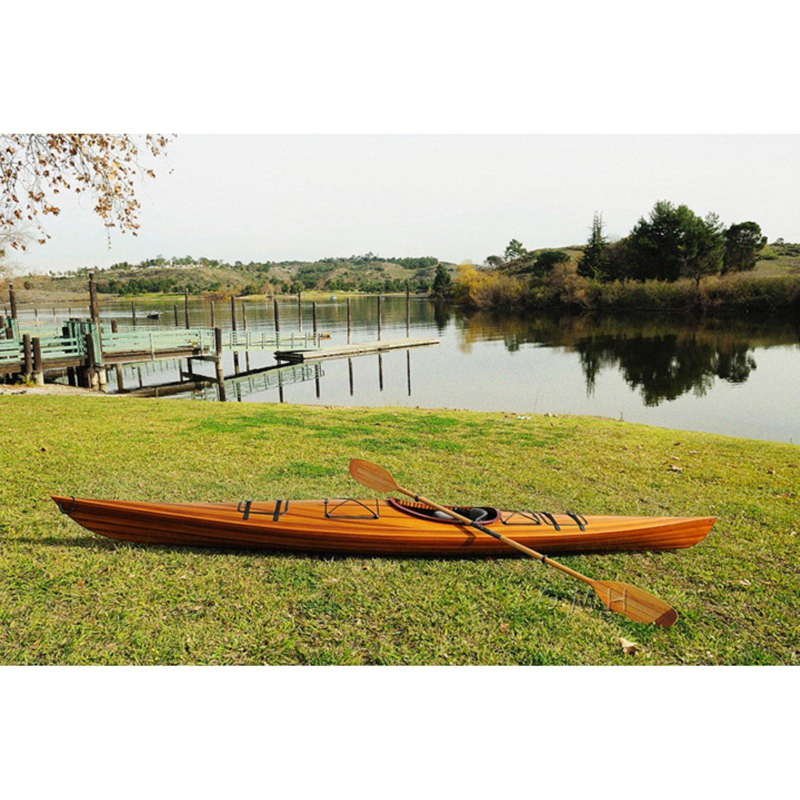 Click here to buy Old Modern Handicraft 15 ft. Real Kayak by Old Modern Handicraft Inc.