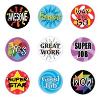 Reward Stickers for Kids - 1,080 count - Teacher Classroom Supplies Stickers - Set of 1,080