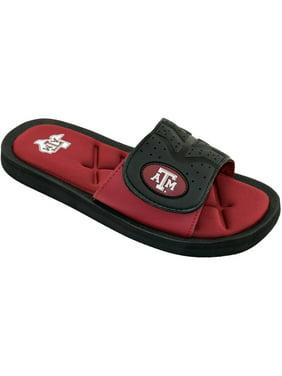 NCAA Texas A&M Men's Cushion Slide Sandals