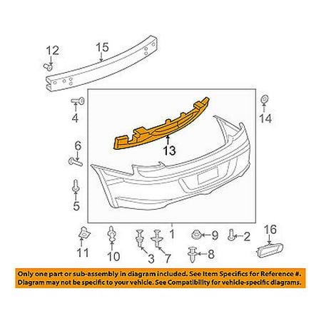 Dodge CHRYSLER OEM 08-10 Avenger Bumper Face-Foam Impact Absorber Bar 5303898AA