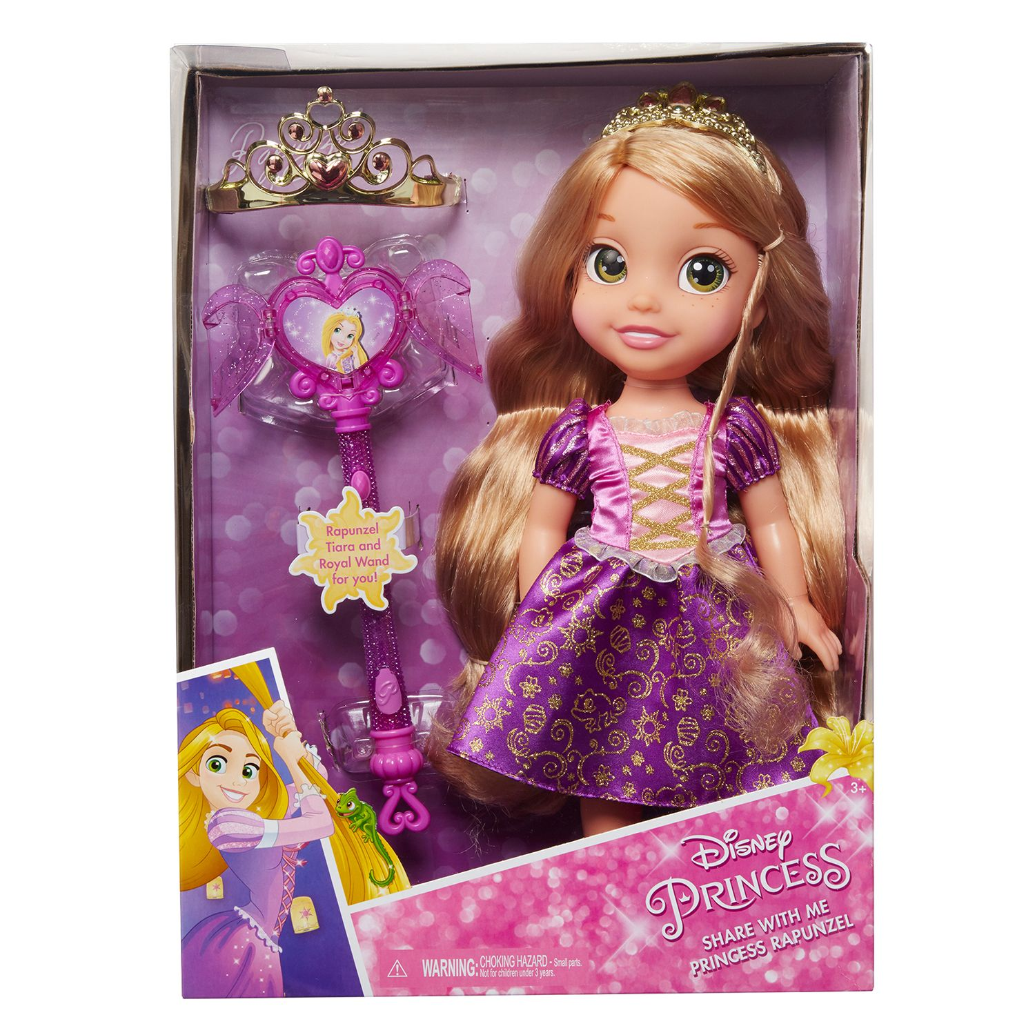 Disney Princess Rapunzel Toddler Doll & Accessories by