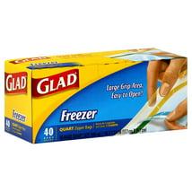 Food Storage Bags: Glad Freezer