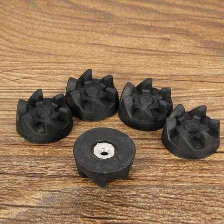 10Pcs Kitchen Clutch Gear Shear 6 Teeths Rubber Coupler Drive For Food Blender