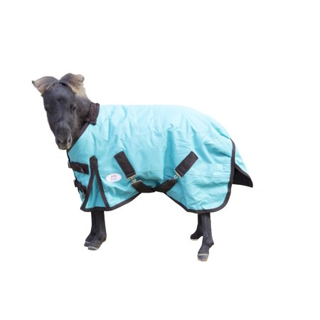 Heavy Duty 1200D Mini Horse Turnout Blanket Insulated by Derby Originals