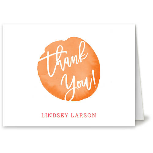 Painting Fun Thank You Card