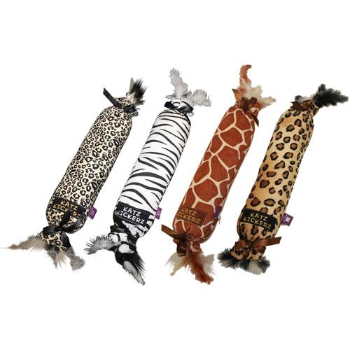 (2 Pack) Multipet Katz Kuddler Cat Toy, Assorted