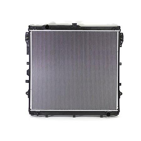 Radiator - Pacific Best Inc For/Fit 13549 14-18 Toyota Sequoia 5.7L 14-18 Tundra 4.6/5.7L Plastic Tank Aluminum