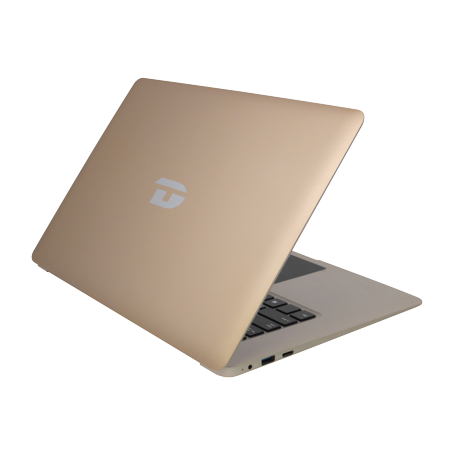 "Refurbished Direkt-Tek DTLAPC14-1-GD 14"" Laptop Intel Atom 4 GB RAM 32GB storage Win 10,Gold"