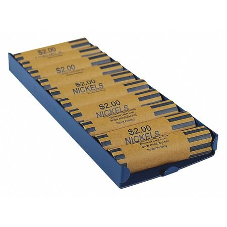 Mmf Coin (MMF INDUSTRIES 211010508 Rolled Coin Storage Tray,Blue )