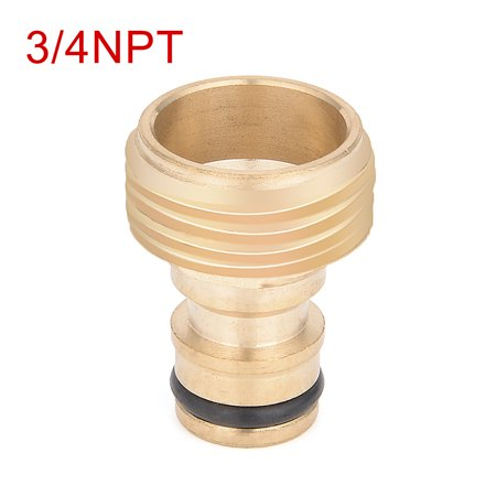 3/4NPT Diamètre Filetage Male Connecteur Tuyau Jardin pour Tuyau raccord Adaptateur Tube - image 1 de 4