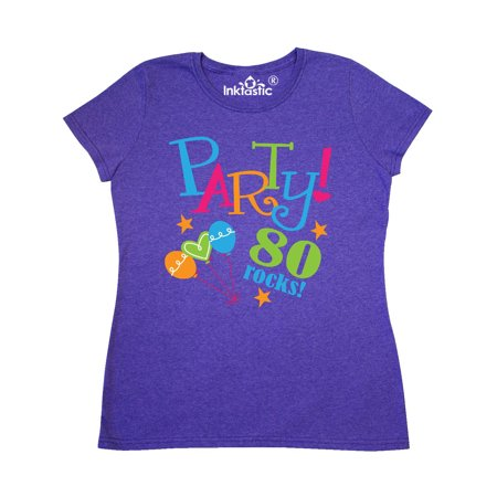 80th Birthday Party Women's T-Shirt ()