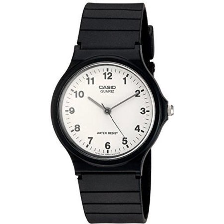 Casio Quartz 3 Hands Classic Resin Watch MQ24-7B