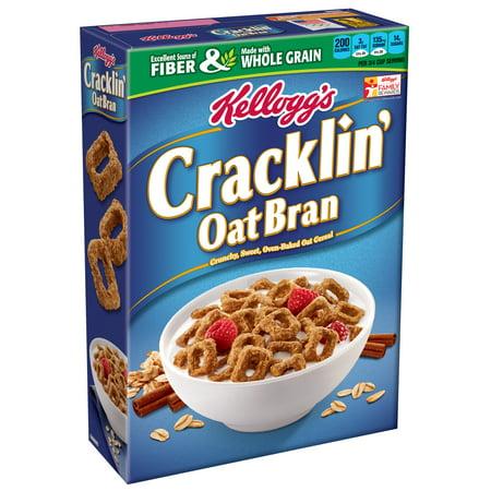 Kelloggs Cracklin Cereal  Oat Bran  17 Oz