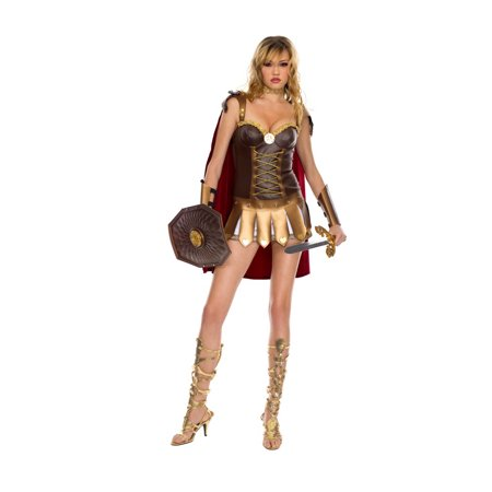 Music Legs Sexy Roman Warrior Love Goddess Halloween Costume