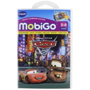 MobiGo Software Cartidge -- Cars 2, Based on the upcoming pixar movie, Cars 2 By VTech Ship from US