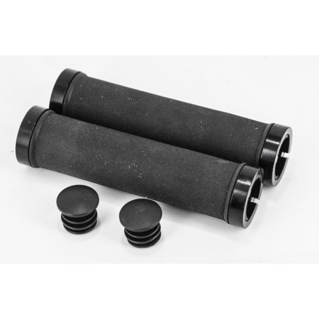 - Lock On Black Mountain BMX Hybrid Flat Bar Bike Grips 22.2mm 7/8