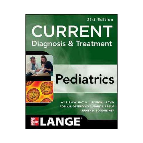 Current Diagnosis & Treatment Pediatrics
