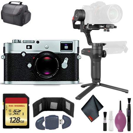 Leica M-P Typ240 Rangefinder Camera Silver (10772) - Zhiyun-Tech WEEBILL LAB Stabilizer - 128GB Case + More