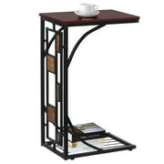 Living Room Sofa Side End Snack Table Tray Stand Rack