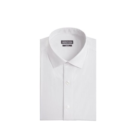 Kenneth Cole Chambray Slim Fit Spread Collar Dress Shirt (Men Dress Shirt Nautica)