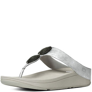 FitFlop Pierra Sandals - Silver Economical, stylish, and eye-catching shoes