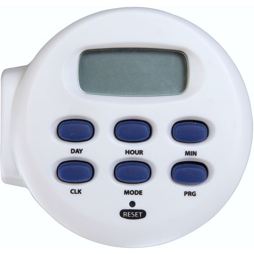 Westek TE04WHB Digital Timer with Rechargeable Battery, White
