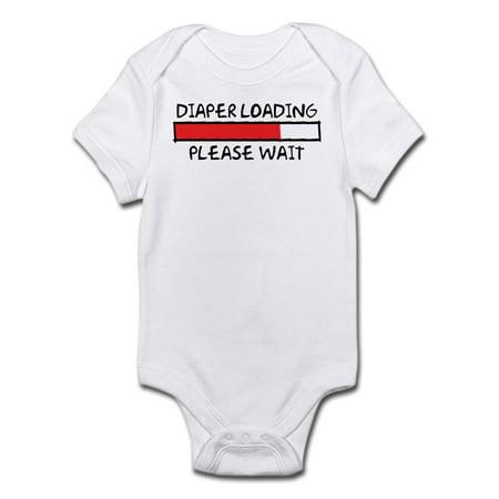 Diaper Loading Infant Bodysuit - Baby Light Bodysuit - Infant Boys Diaper Shirt