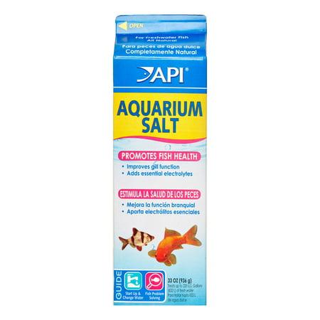 - Mars Fishcare API Aquarium Salt, 33 Oz