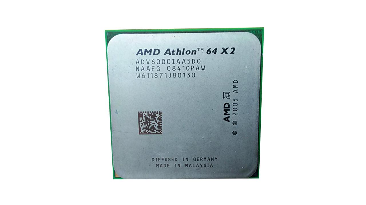 Refurbished Amd Athlon 64 X2 6000 3 1ghz Socket Am2 2 Gt S Desktop Cpu Adv6000iaa5do Walmart Com Walmart Com