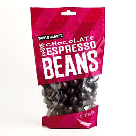 Bean Chocolate Lab (Dark Chocolate Espresso Beans 9 oz each (5 Items Per Order) )