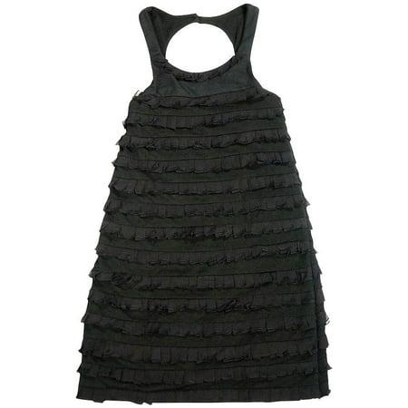 Flowers by Zoe - Big Girls Sleeveless Party Dress - 3 Styles - 30 Day Guarantee Black / - By Zoe Dress