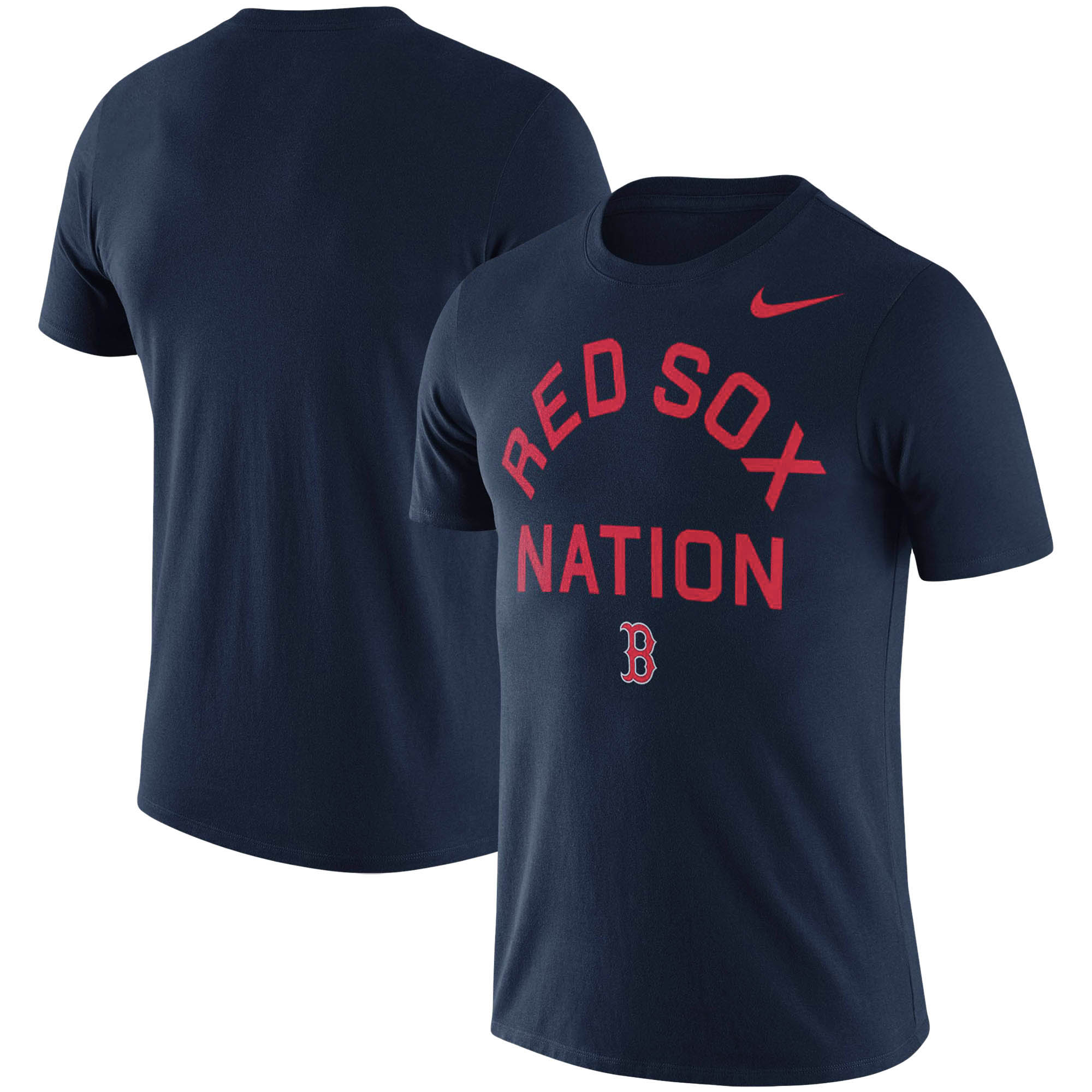 Boston Red Sox Nike MLB Nation Local Phrase T-Shirt - Navy
