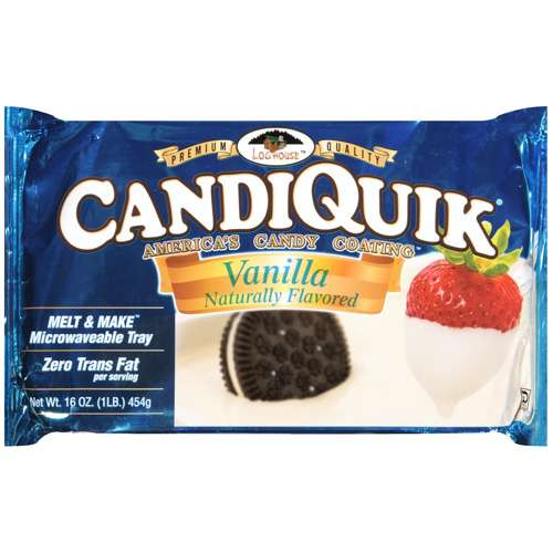 Candiquik Vanilla Baking Bar, 16 oz