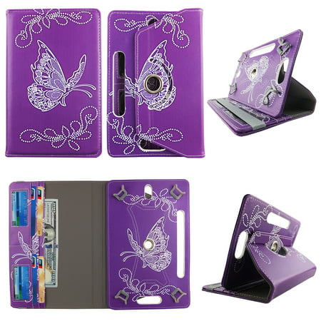 Butterfly Purple tablet case 8 inch  for Samsung Galaxy Note 8