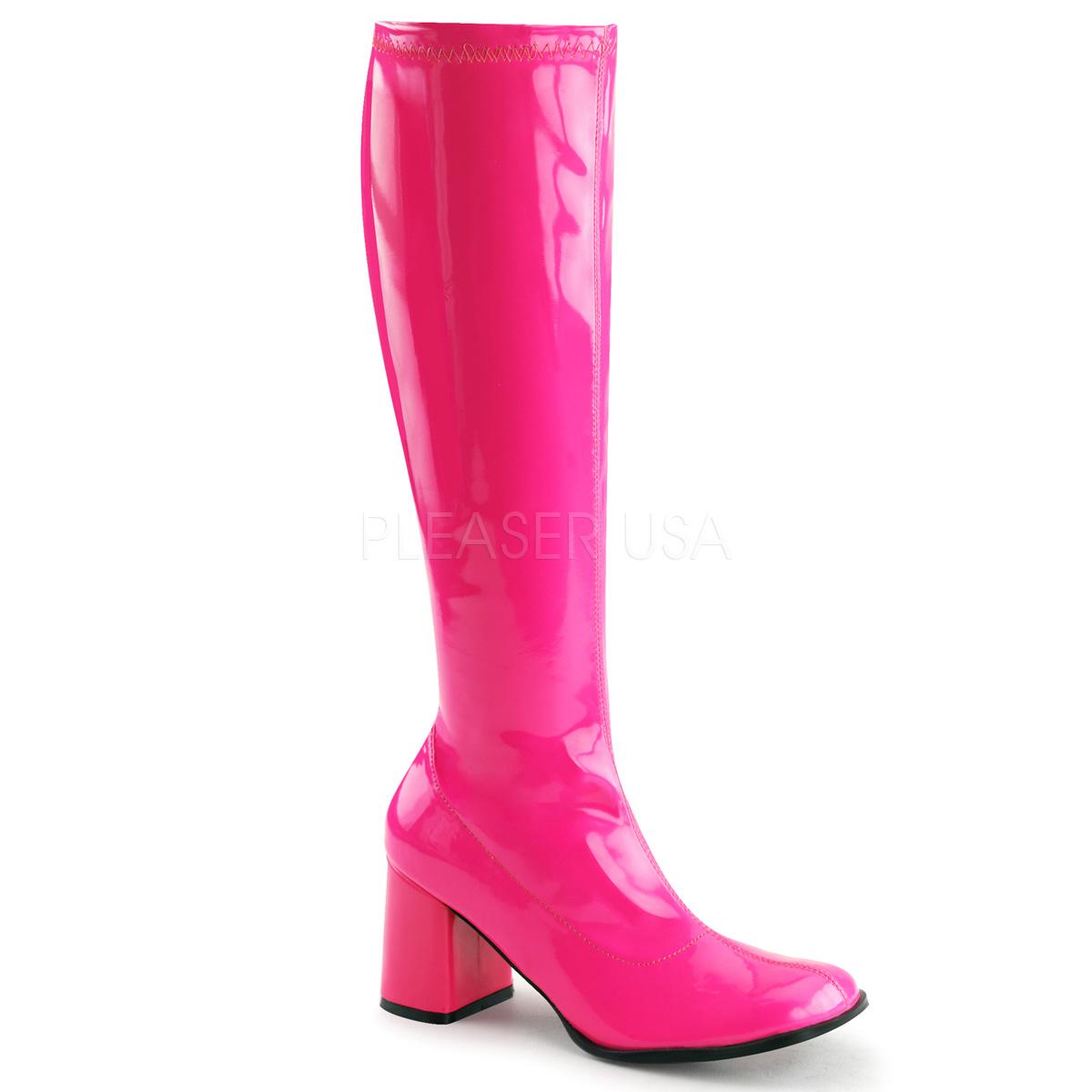 gogo 300uv 3 inch heel knee high boot walmart