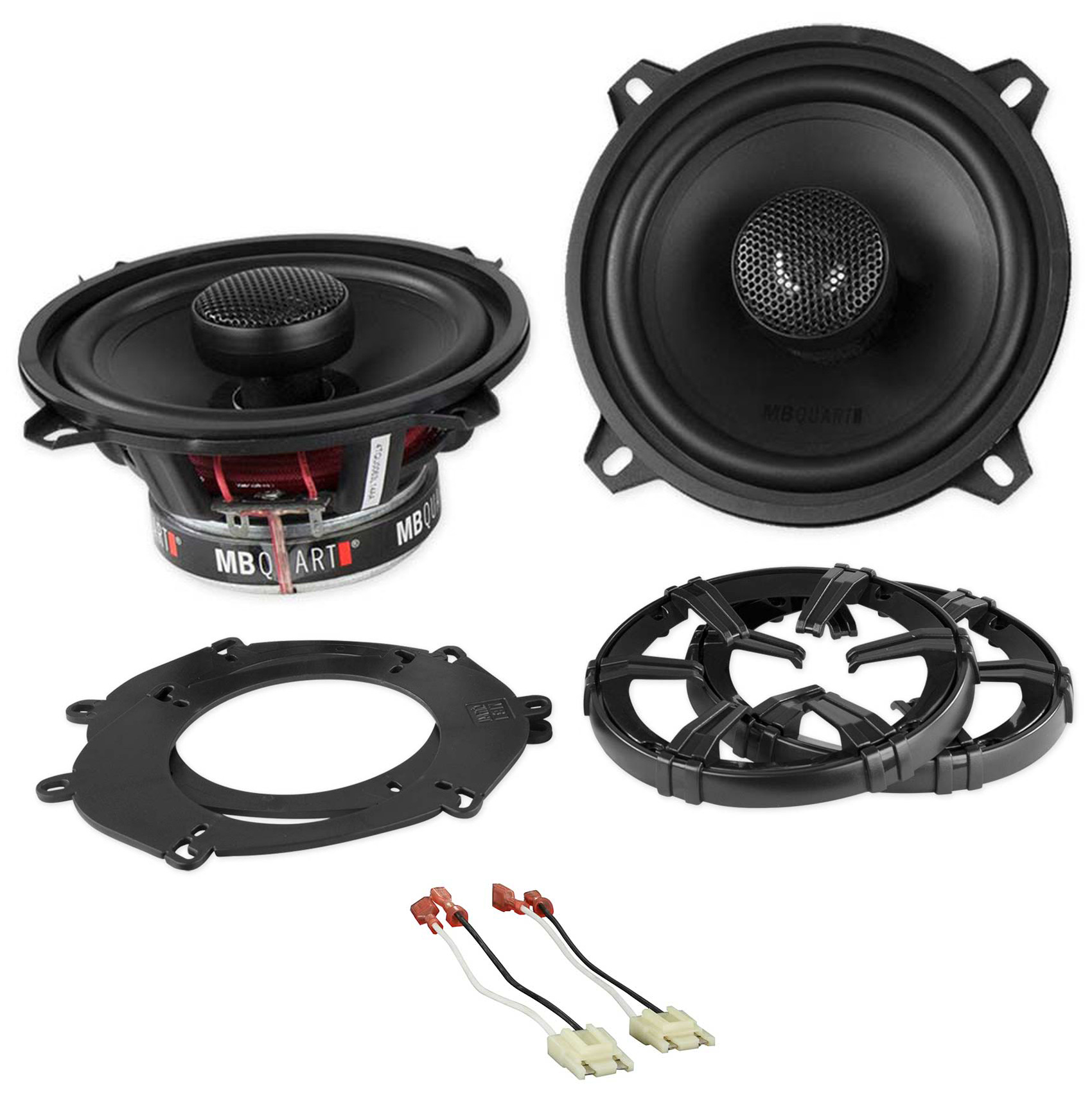 """5.25"""" MB Quart Side Panel Factory Speaker Replacement For 92 Jeep Grand Wagoneer"""