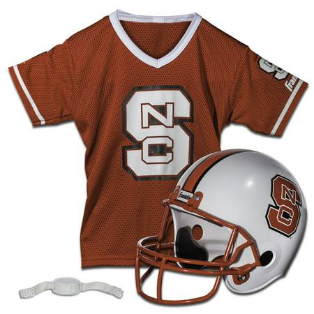 Franklin Sports Ncaa Nc State Wolfpack Helmet Jersey Set