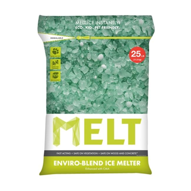Snow Joe MELT25EB 25 lbs. Premium Enviro Blend Ice Melter With Cma