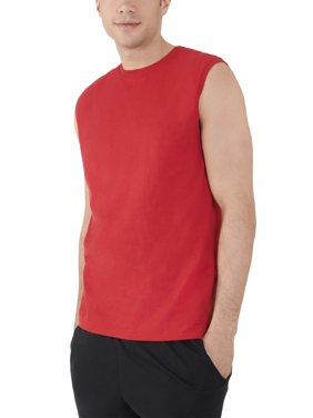 ed573b9d76f978 Product Image Fruit of the Loom Big mens dual defense upf muscle shirt,  available up to sizes