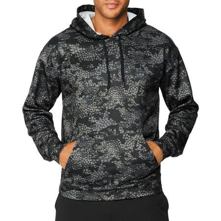 - Sport Big Men's Performance Fleece Pullover Hoodie