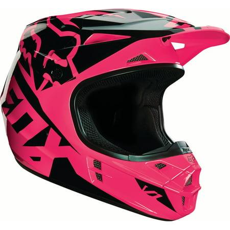 Fox V1 Race Helmet (2016) (Pink, X-Small)