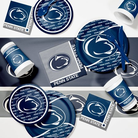 Penn State University Game Day Party Supplies Kit - University Of Alabama Party Supplies