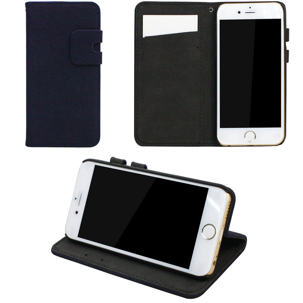 JAVOedge Mimo Synthetic Leather Book Case with Card Slot Insert for iPhone 6