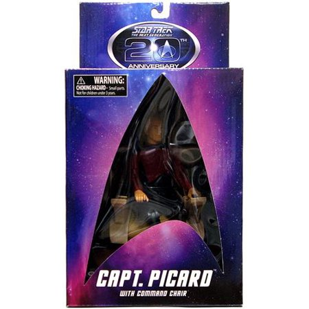 20th Anniversary Action Figure - Star Trek 20th Anniversary Jean Luc Picard Action Figure [With Command Chair]